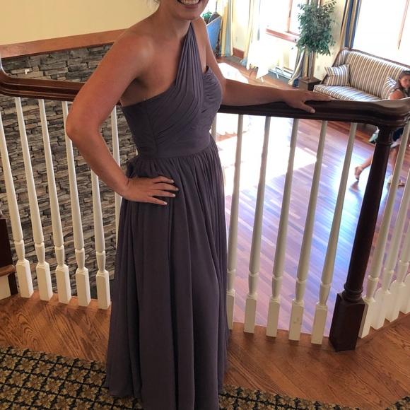 weddington way Dresses & Skirts - 1 shoulder bridesmaid dress